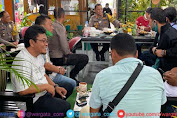 AKBP Irwan Sunuddin Ajak Wartawan Coffee Morning, Pererat Silaturrahmi