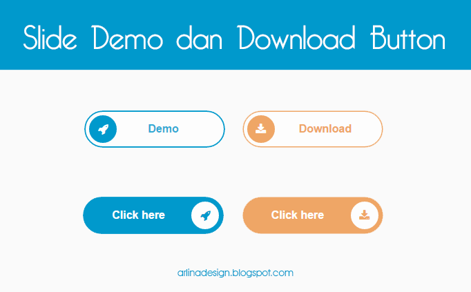 Memasang Slide Demo dan Download Button