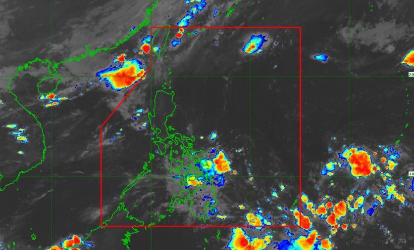 Satellite image of Tropical Storm 'Dante' as of 4:40 am, June 5, 2021
