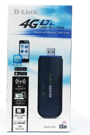 D-Link 4G LTE Wireless USB Router