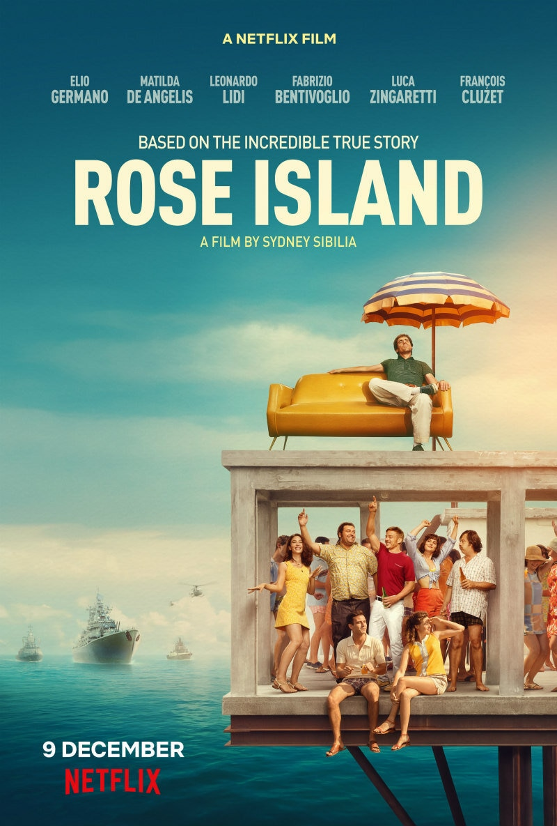 rose island movie poster