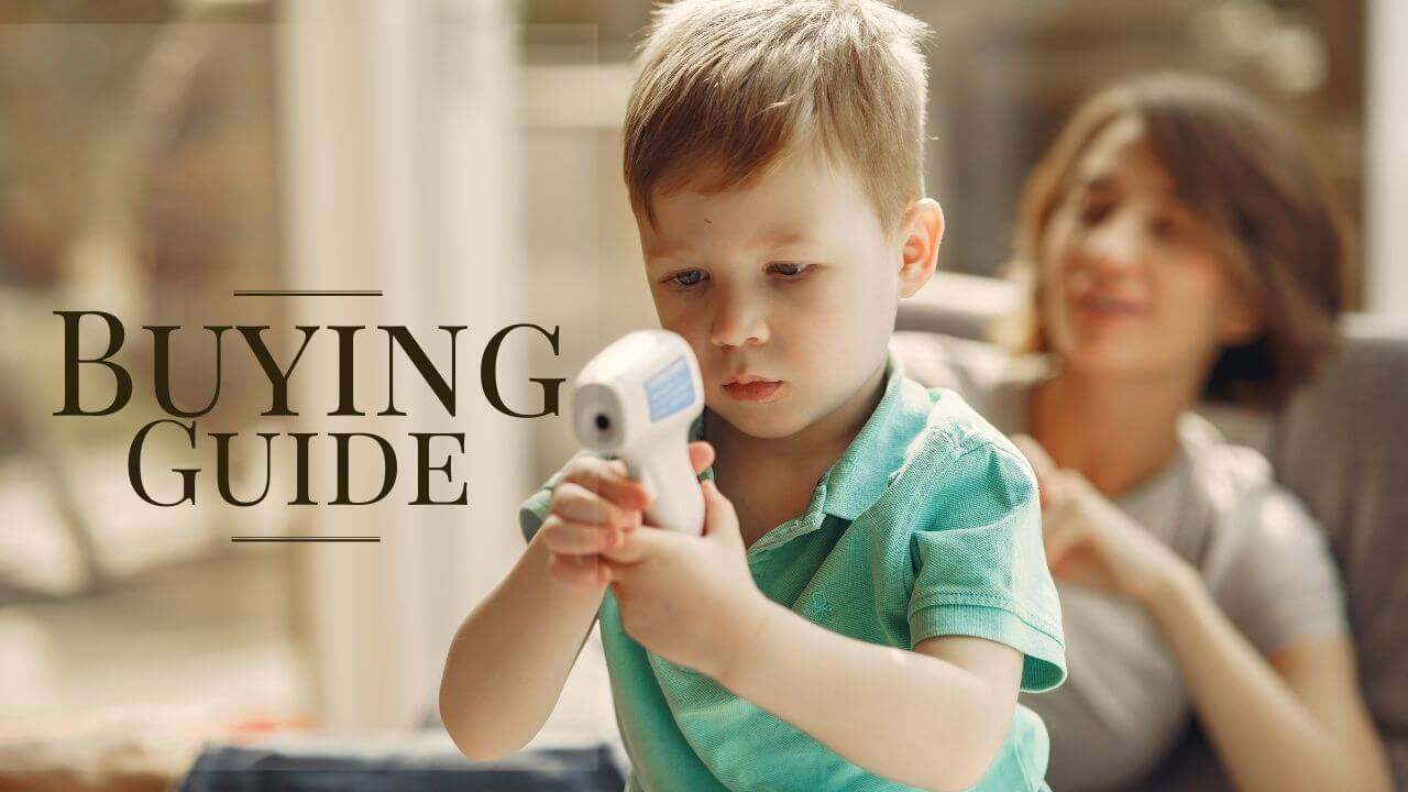 buying guide for best infrared thermometer and temperature gun