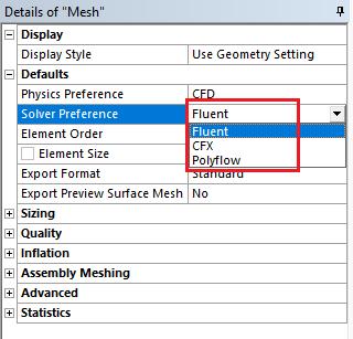 Solver Preference