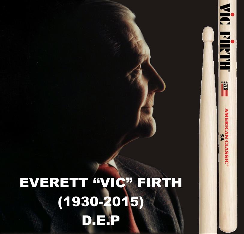 portada massbateria Everett Vic Firth