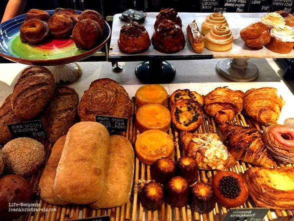 Pastries at Wildflour Cafe + Bakery