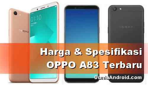Harga HP OPPO A83 di Indonesia