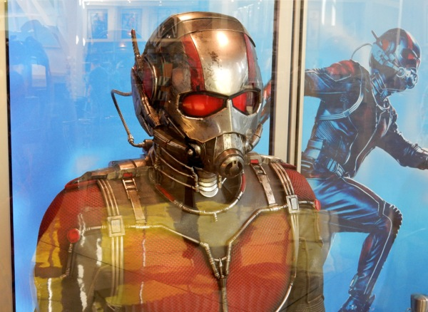 AntMan film costume helmet