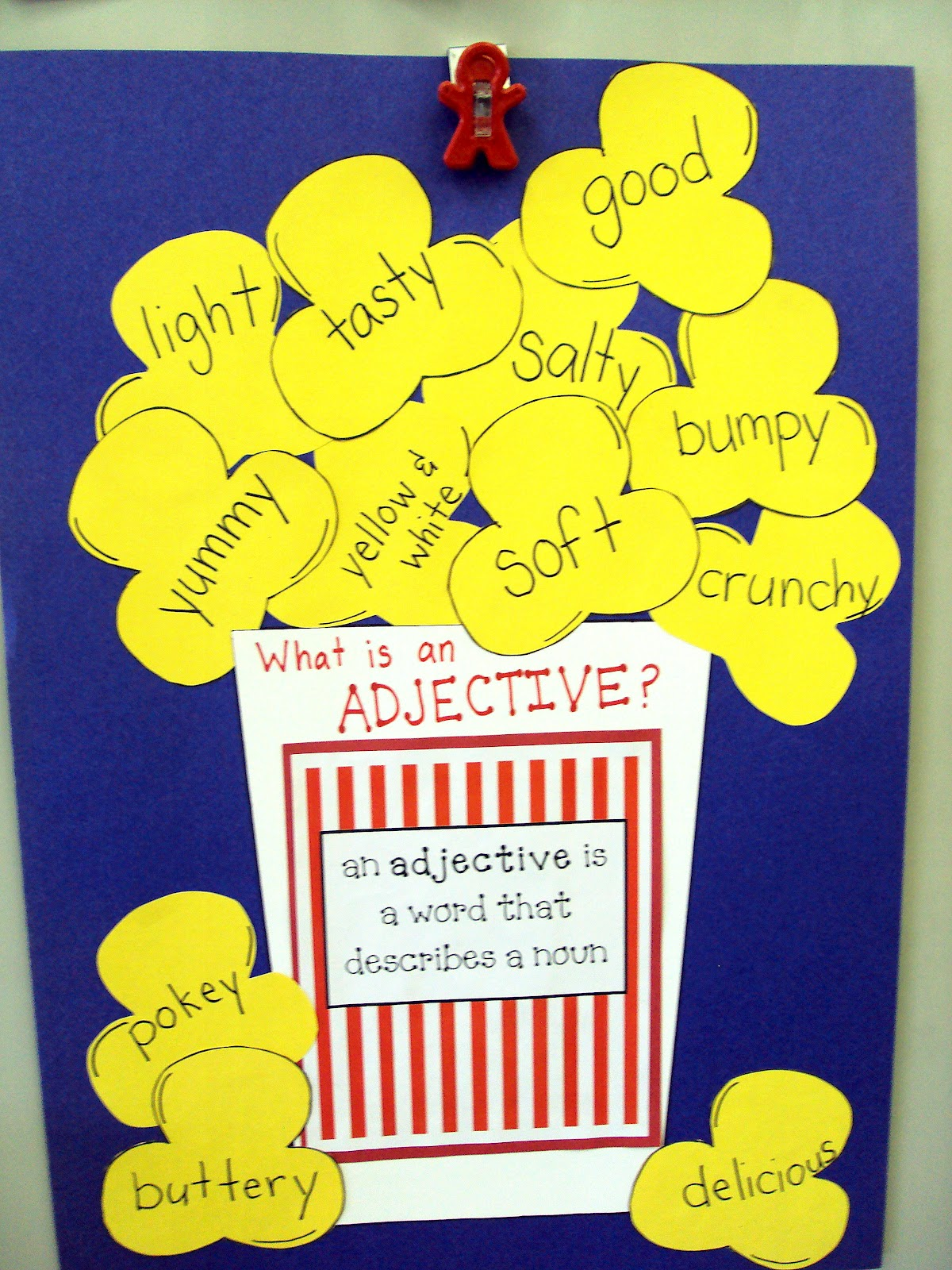 Snickerdoodles Popcorn Adjectives