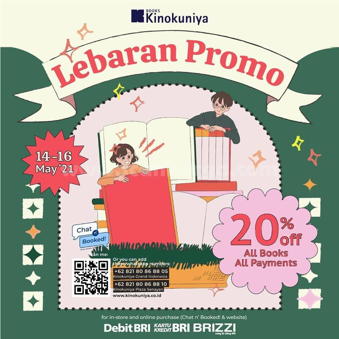 Promo KINOKUNIYA Spesial LEBARAN – DISKON hingga 20%