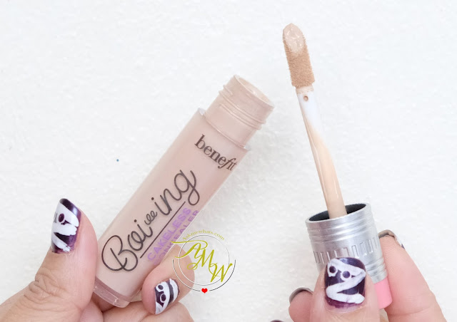 a photo of Benefit's Boi-ing Cakeless Concealer Review by Nikki Tiu of askmewhats.com
