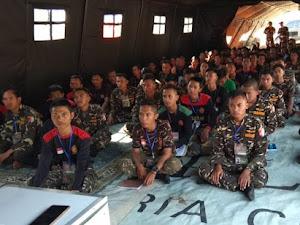 Seorang Habib Ikut Kursus Banser di Bandung Barat