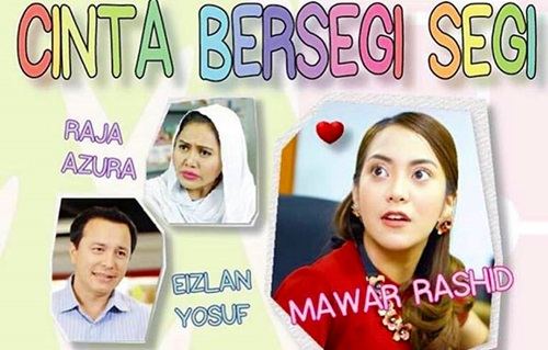 Sinopsis telemovie Cinta Bersegi-Segi TV9, pelakon dan gambar telemovie Cinta Bersegi-Segi TV9