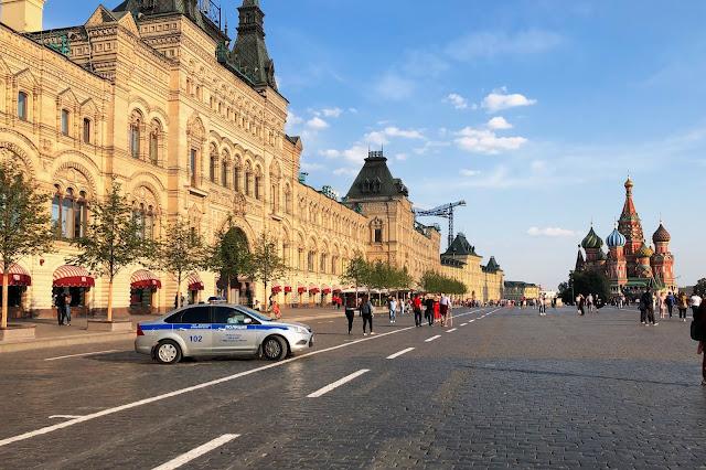 Красная площадь, ГУМ, храм Василия Блаженного | Red Square, GUM, St. Basil's Cathedral