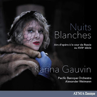 Bortnianski, Fomine, Berezovski, Dall'Oglio, Gluck; Karina Gauvin, Pacific Baroque Orchestra, Alexander Weimann; ATMA Classique