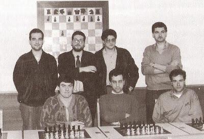 Equipo del Club Ajedrez Tarragona en 1991, Campeón de España por correspondencia 1987-1991