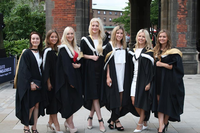 blogger graduation day Newcastle university