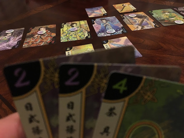 Hanamikoji Board Game by Deep Water Games Review Geisha