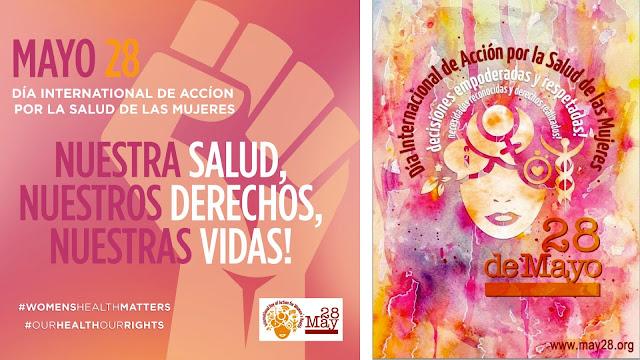 Cartel del Día internacional de acción por la salud de las mujeres