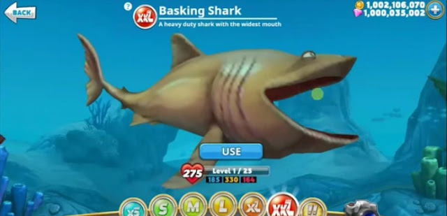 cara cheat hungry shark world unlimited money