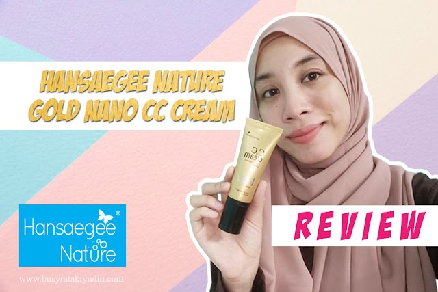 BEAUTY REVIEW | HANSAEGEE NATURE GOLD NANO CC CREAM