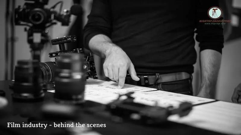 صناعة السينما - و ما وراء الكواليس