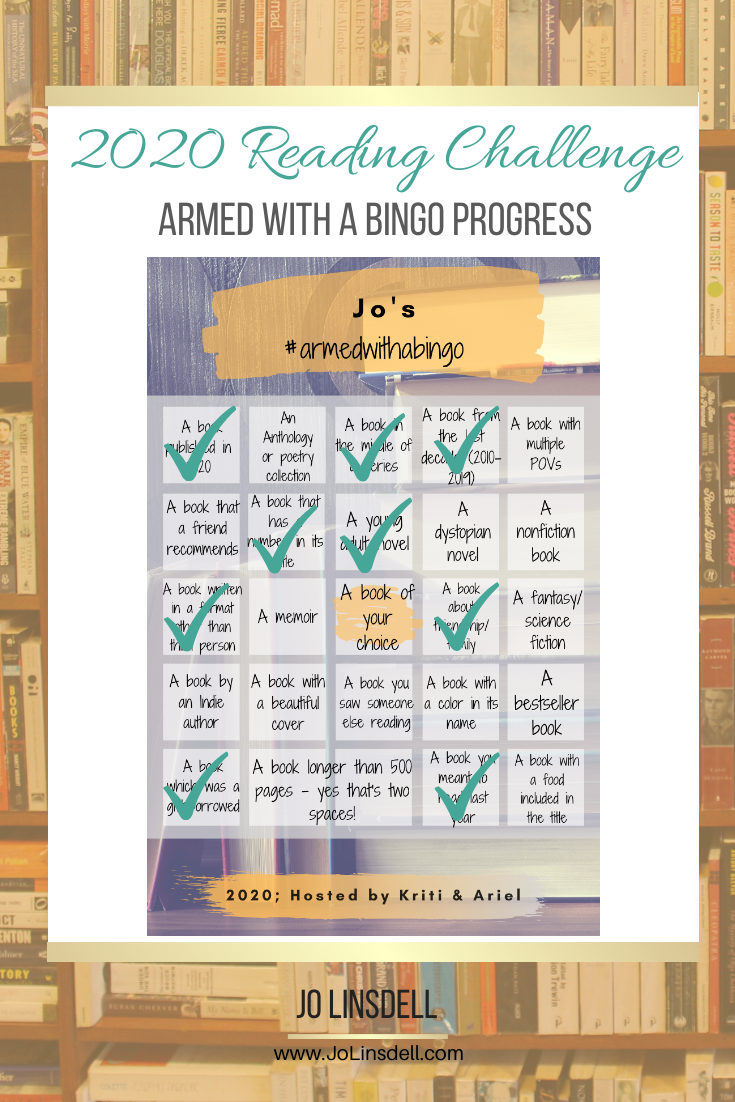 2020 Challenges: May Update Armed With A Bingo
