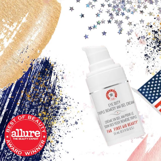 Allure Best  OF Beauty Winner First Aid Beauty Eye Duty Triple Remedy AM Gel Cream by Barbies Beauty Bits