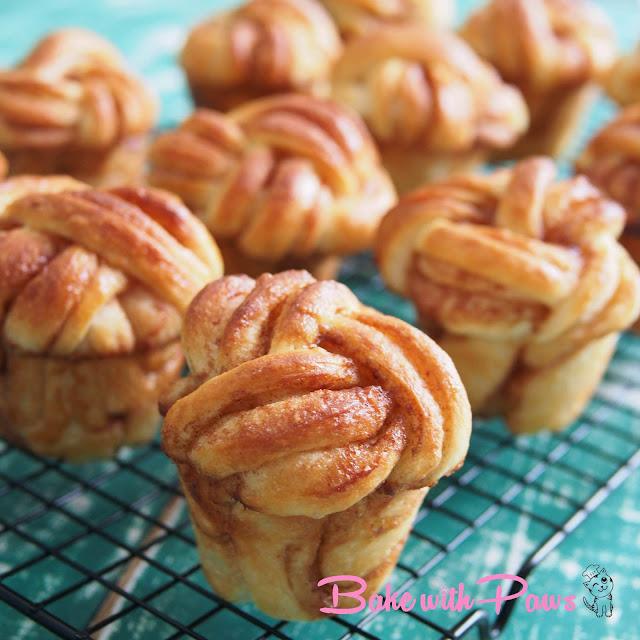 Twisted Cinnamon Buns
