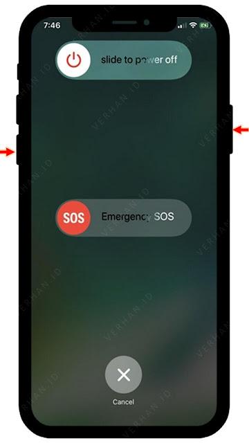 cara mematikan iphone 11 tanpa touchscreen