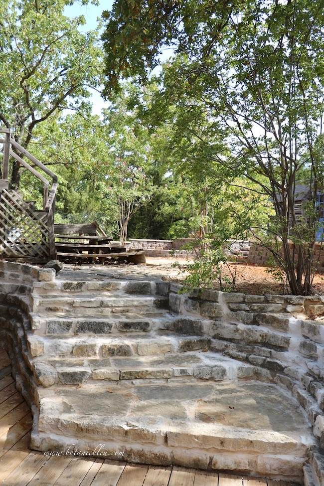 3 design factors for exterior wood stairs required new stone retaining wall before new stairs