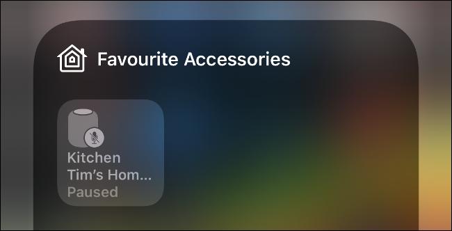 التحكم في أجهزة HomeKit المفضلة عبر مركز التحكم