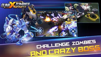 Download Guns X Zombies Apk v2.1 (Mod MoneyUnlocked) Terbaru