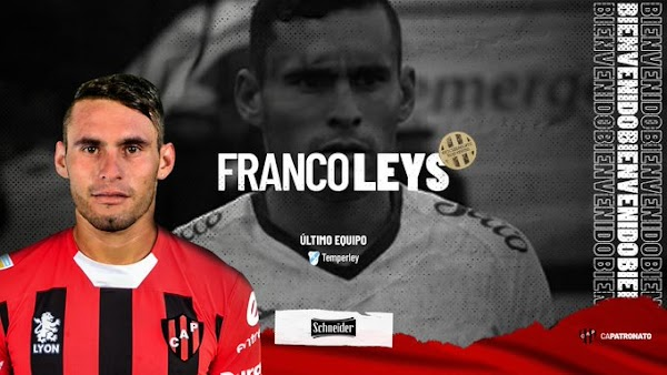 Oficial: Patronato, firma Franco Leys