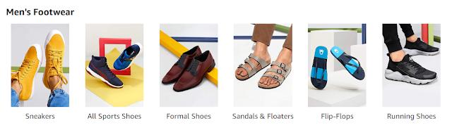 mens footwear amazon