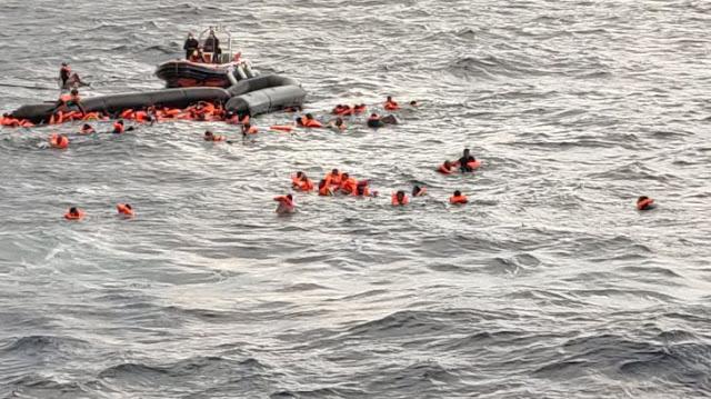 ليبيا: حطام سفينتين يقتلان ما يقرب من 100 في يوم واحد
