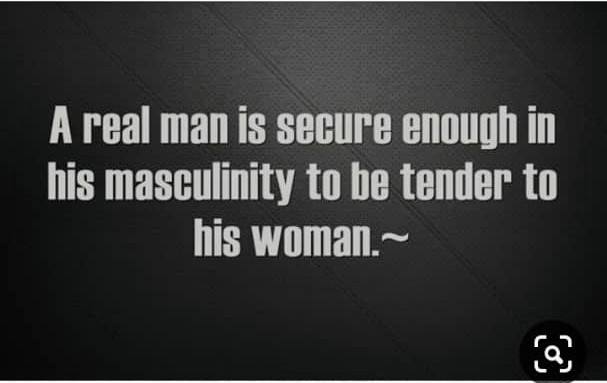 """There is nothing enviable about being """"Man enough"""""""