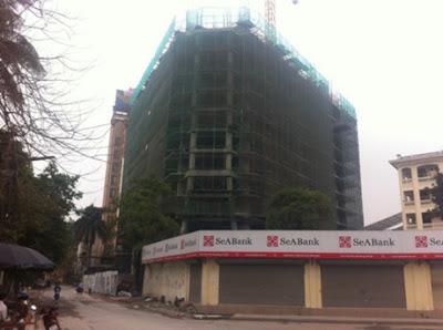 Tiến độ thực tế chung cư tháp doanh nhân