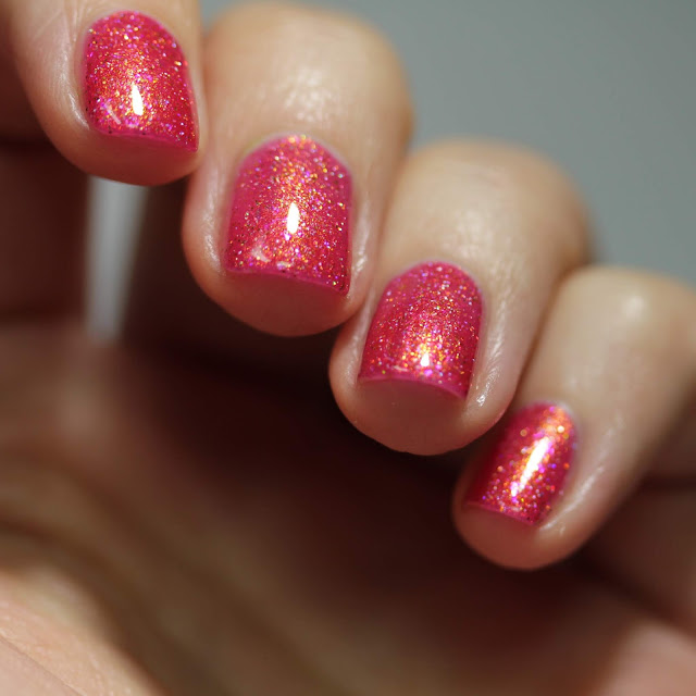 Girly Bits Sparkling Lycopene swatch by Streets Ahead Style