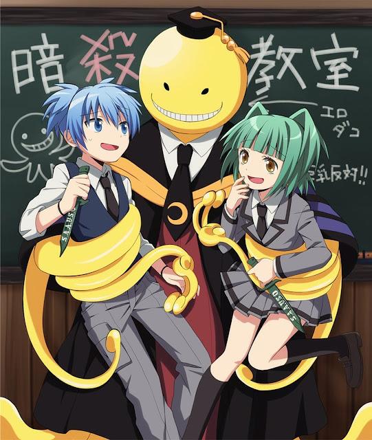 Ansatsu Kyoushitsu- (Assassination Classrom) (22/22) + OVAS (HDL) (Sub Español) (Mega)
