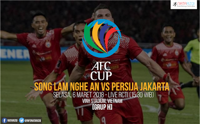 Live Streaming Song Lam Nghe An vs Persija