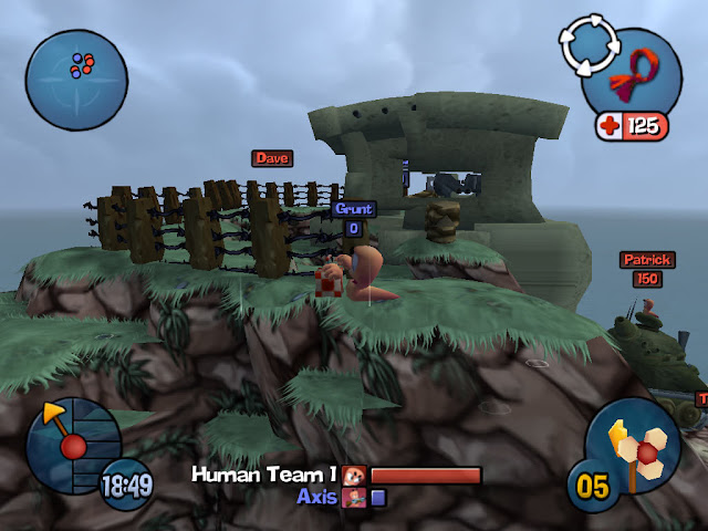 Worm 3D PC Free Download Gameplay