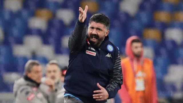 Gattuso claims Napoli will face Barcelona 'without fear'