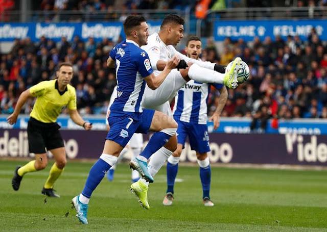 Video Alaves 1-2 Real Madrid: 3 bàn chóng vánh, hiệp hai định đoạt