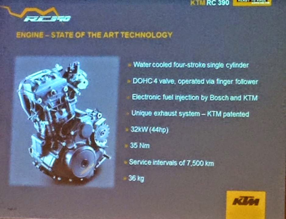 KTM RC390 2015 Dilancarkan Secara Rasmi Di Modena, Itali - Harga Asas RM28,000