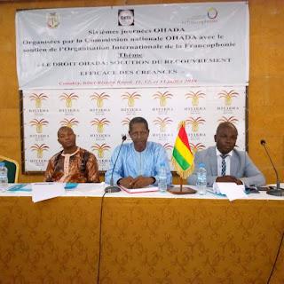 Guinée: Conakry, clôture des sixièmes journées OHADA