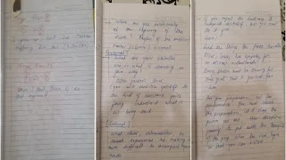 Sushant Singh rajput Diary Pages 1