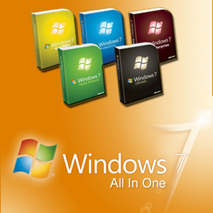 Windows 7 All in One 32 / 64 Bit Updated June 2019 Download