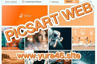 Picsart web editor photo