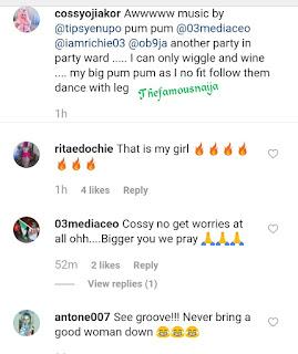 Cossy Ojiakor Dances On Hospital Bed 9