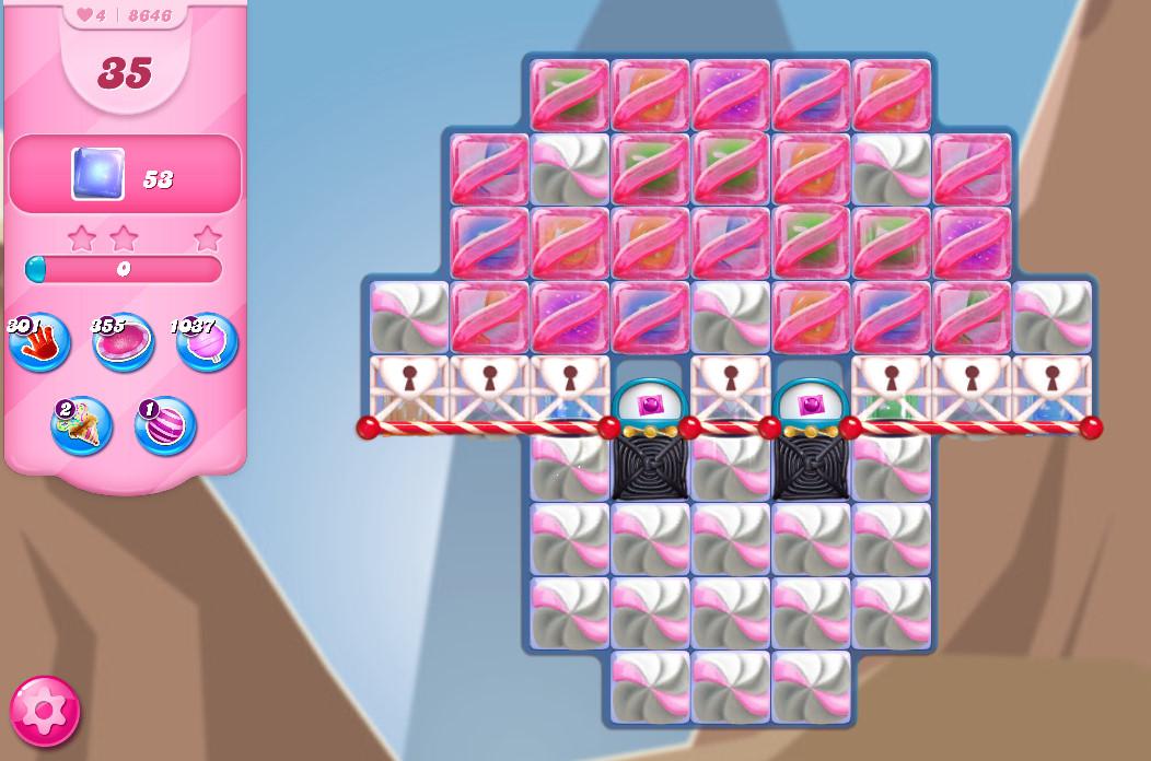 Candy Crush Saga level 8646